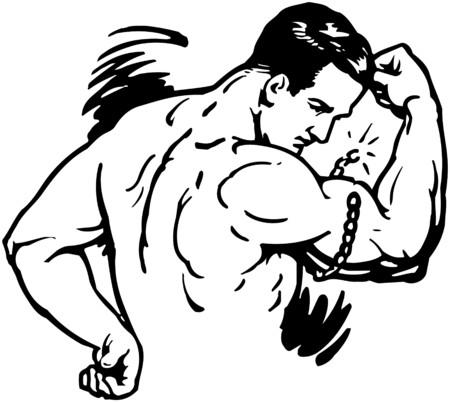flexing: Strongman