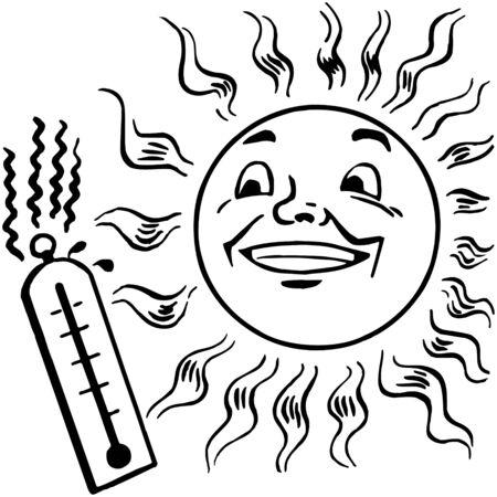 mirage: Sun Illustration