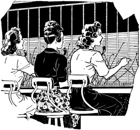 Switchboard Operators 2 Illustration