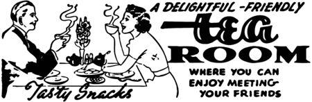 woman drinking tea: Tea Room