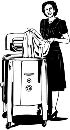 The Modern Fifties Washer