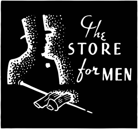 The Store For Men 3 Vector