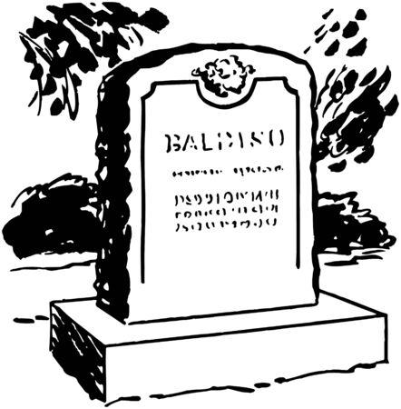 Tombstone 6 Standard-Bild - 28344623