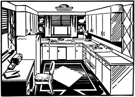 linoleum: Retro Kitchen 2