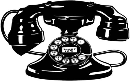 dialing: Retro Telephone 4