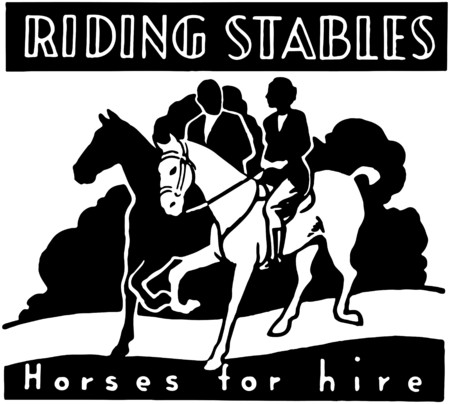 renting: Riding Stables Illustration