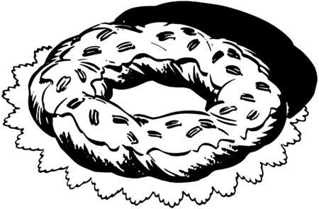 Ring Cake Ilustração