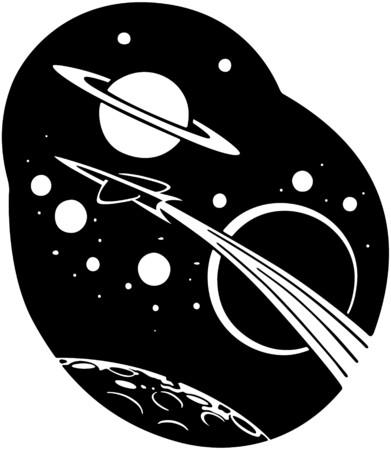 saturn: Rocketship To Space