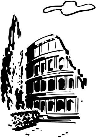 Roman Coliseum Imagens - 28344834