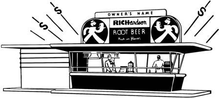 root beer: Root Beer Stand