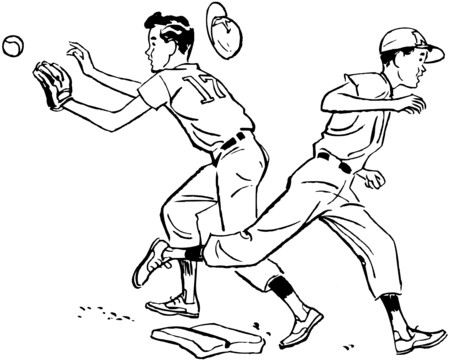 rounding: Safe On First Illustration