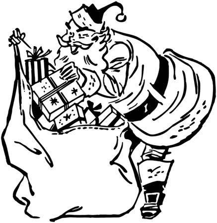 nick: Santa Claus With Sack