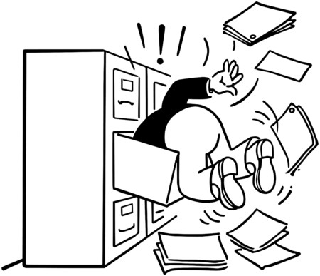 Searching The Filing Cabinet