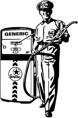 refills: Service Station Man