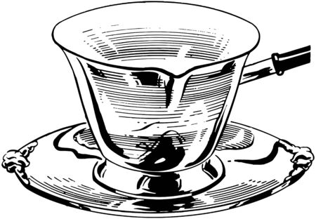 Silver Milk Ladle