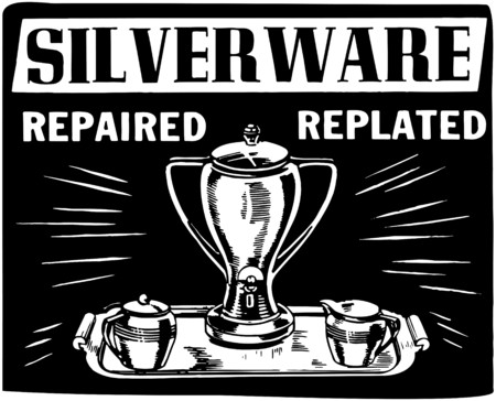 repaired: Silverware Repaired Replated