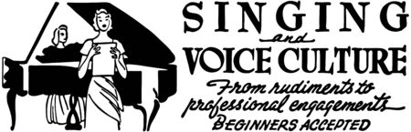 Singing And Voice Culture