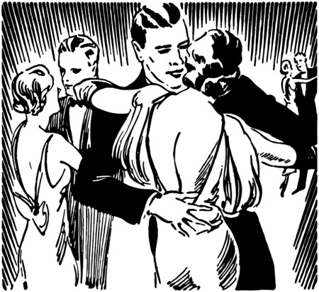 galas: Slow Dancers Illustration