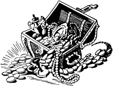 Treasure Chest 2 Illustration