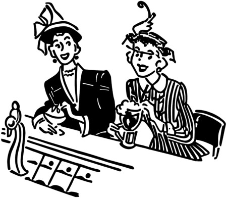 dinners: Two Gals At The Soda Shop