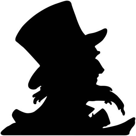 Uncle Sam Silhouette