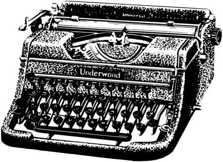 literature: Underwood Typewriter