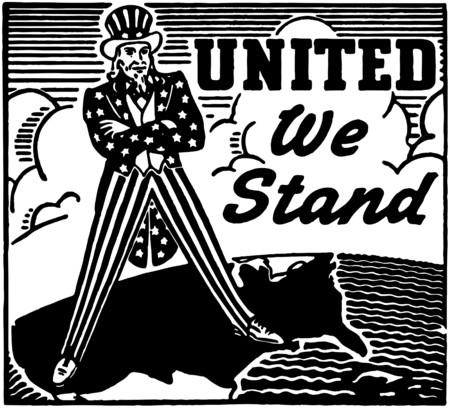 미국 우리는 스탠드