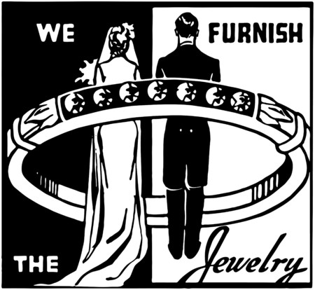furnish: We Furnish The Jewelry Illustration