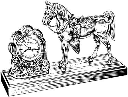 timepieces: Western Clock