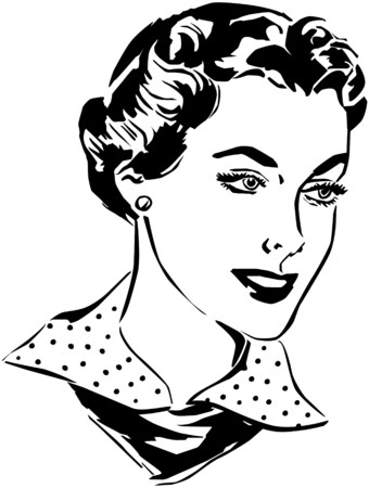 modeling: Woman Illustration