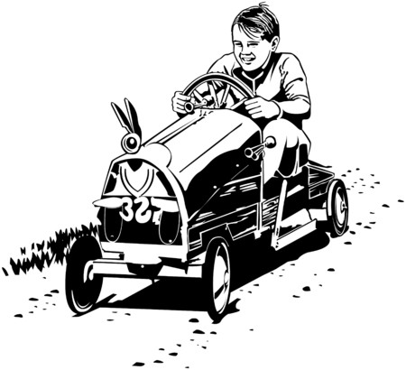 autos: Soapbox Racer Illustration