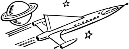 passing: Spaceship Pasando Saturn