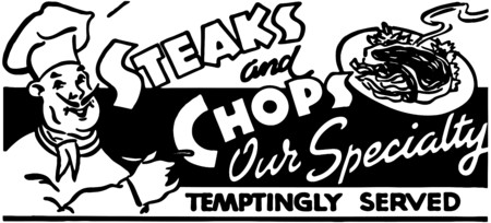 chops: Steaks And Chops 2 Illustration