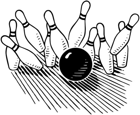 Ten Pin Stock Illustratie
