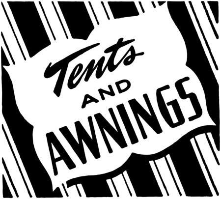 verandas: Tents And Awnings