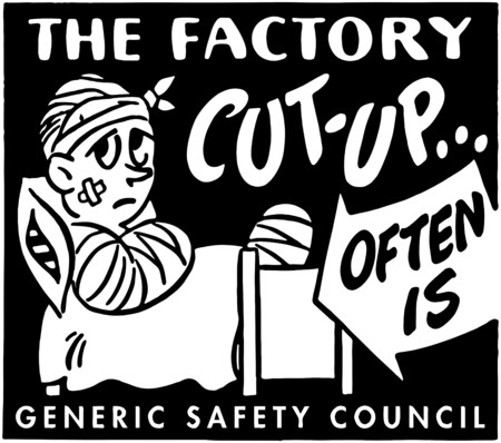 injured person: The Factory Cut-Up