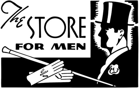 40s: The Store For Men Illustration