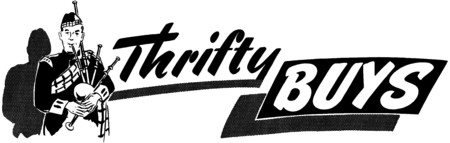 spendthrift: Thrifty Buys
