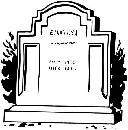 parlours: Tombstone 1 Illustration