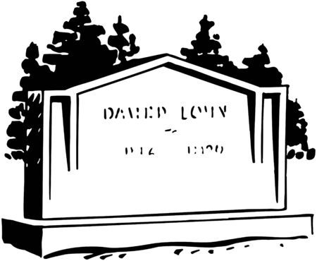cemetery: Tombstone 4 Illustration