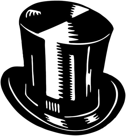 top: Top Hat Illustration