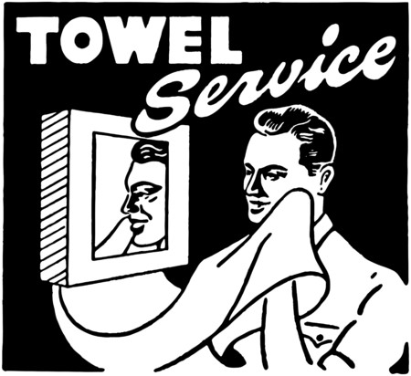 Towel Service Vector