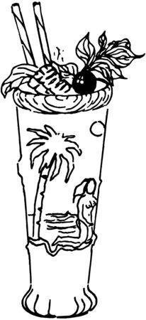 tropical drink: Bebida Tropical