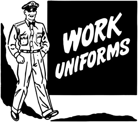 tough man: Work Uniforms