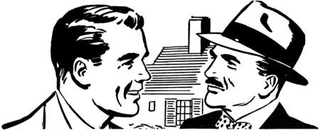 talking: Two Men Talking