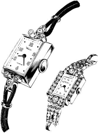 Twee horloges