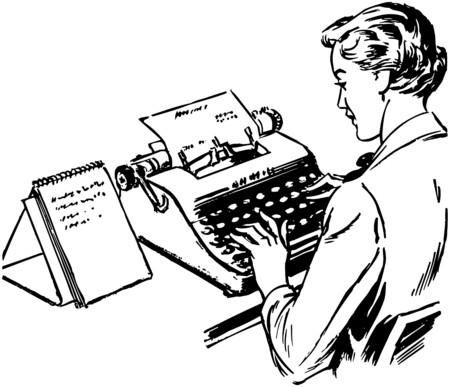 typist: Typist Illustration