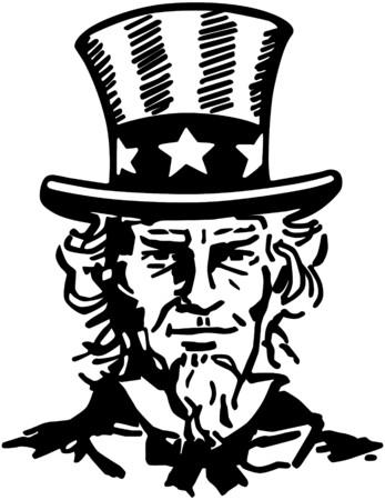 Uncle Sam 2 Illustration