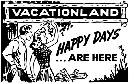 frolic: Vacationland Illustration