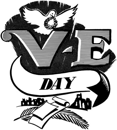 ve: V-E Day Illustration